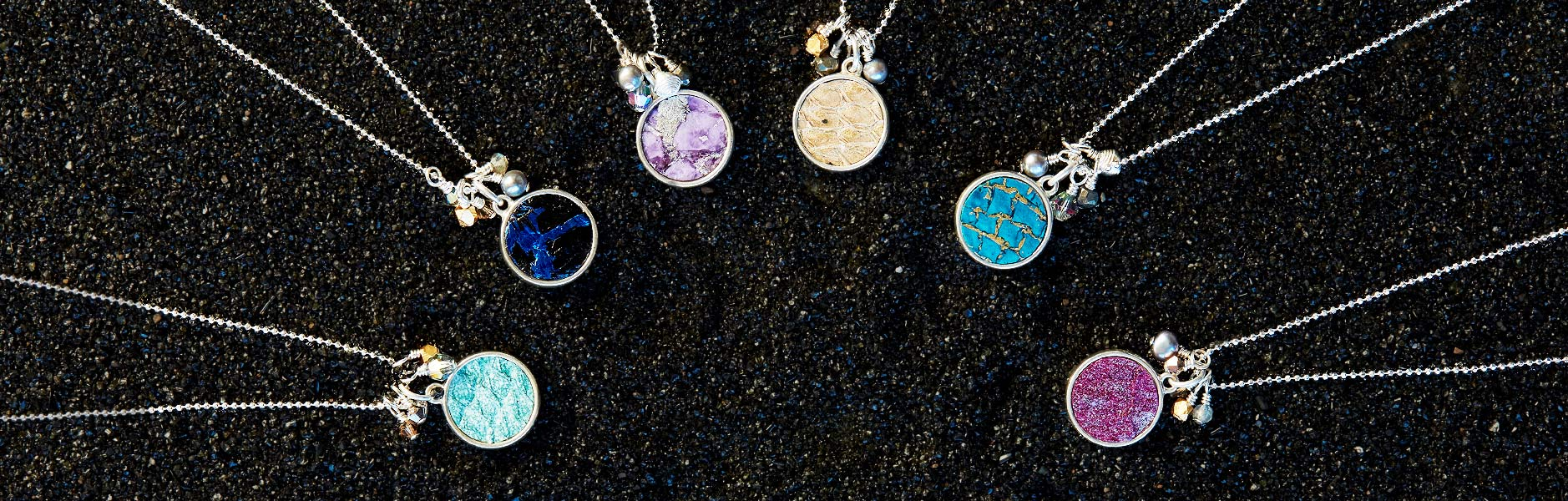 Moonrise Jewelry - Fish Leather Necklaces