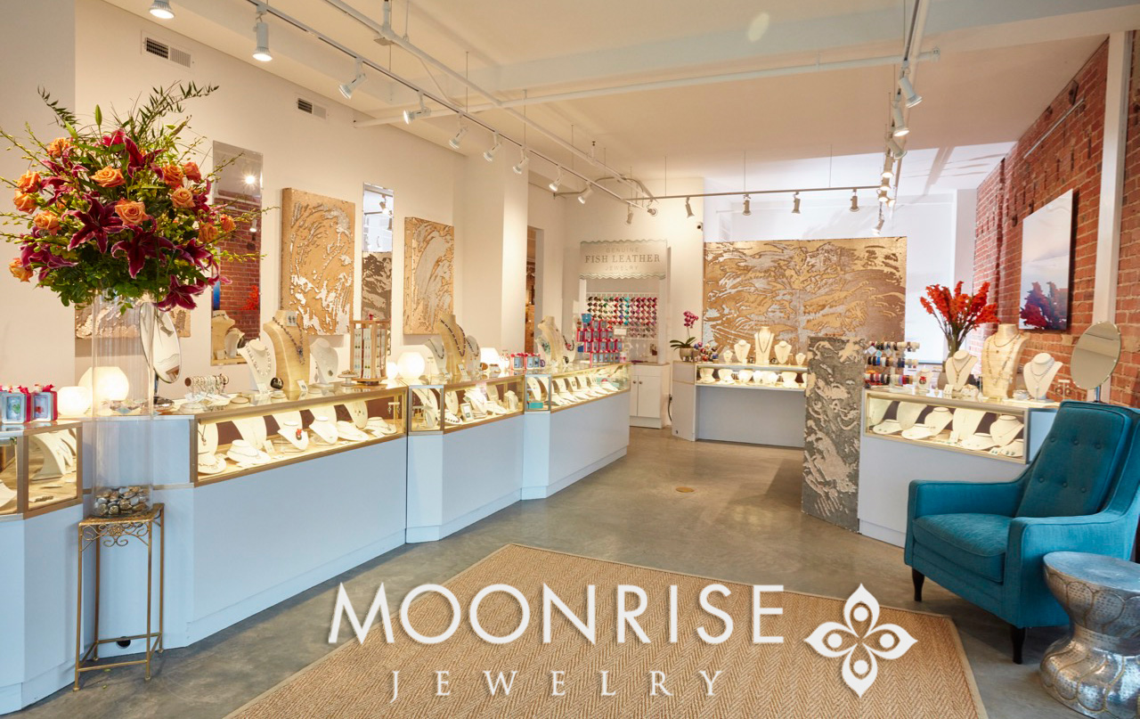Moonrise Jewelry's Showroom, Cape Charles, VA